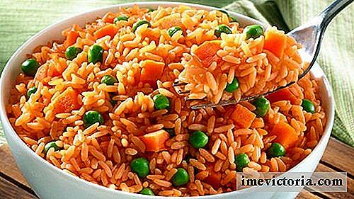 Dieta de arroz rojo y gomasio