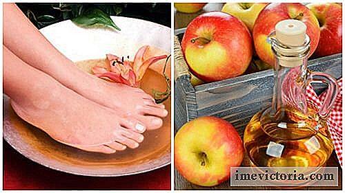fodbad med æbleeddike