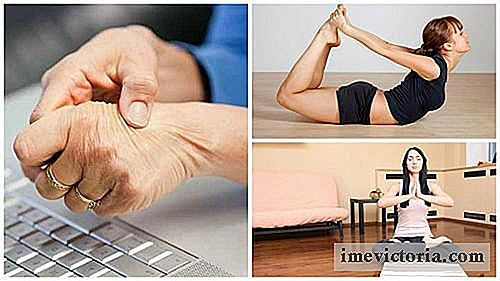 Avlaste Carpal Tunnel Syndrome med 5 yoga øvelser