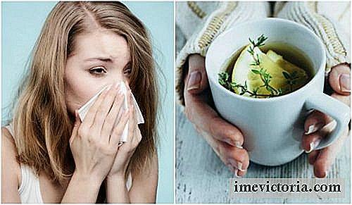 Lindra Hosta Och Förkylning Med En Infusion Av Timjan Citron Och
